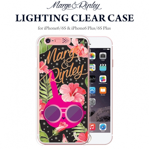 627091a44c [SG DESIGN] iPhone6/iPhone6 Plus M&R Lighting Clear Art Case ...