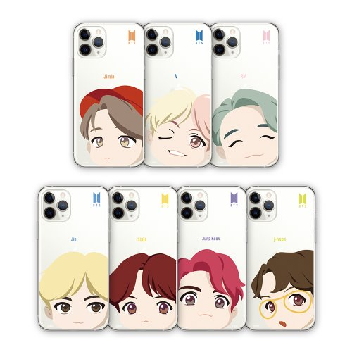 [BTS] BTS MOTION FACE CLEAR SOFT CASE