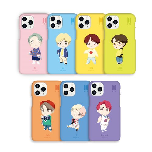[BTS] BTS BASIC MOTION COLOR SOFT CASE